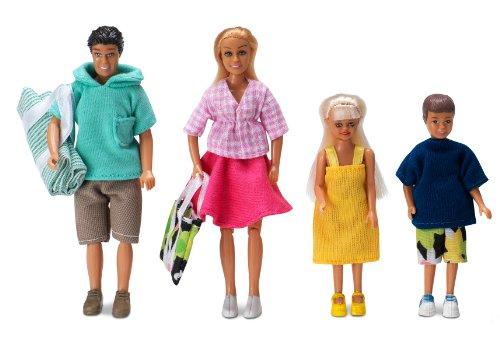 Imagen principal de Lundby 83.2001.00 Gotland - Familia para casa de muñecas [Importado de Alemania]