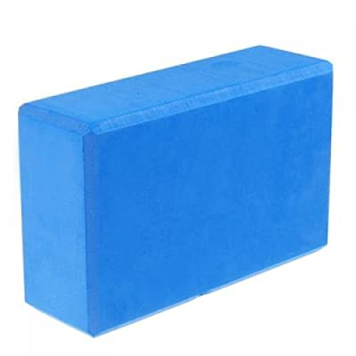 SODIAL(R) Blau Yoga Block fuer Exercise Fitness Healthy Life