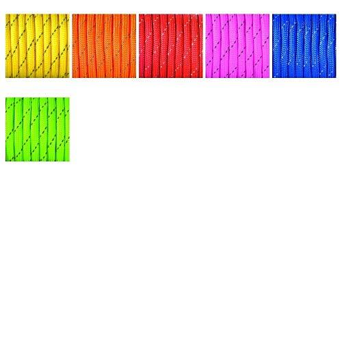 efco Farbe Mix 550Paracord Seil Mischgewebe, Polyester, Grün, 4mm x 4m