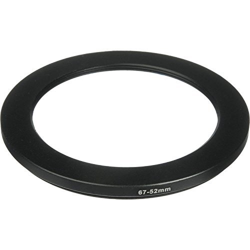 Phot-R® 67-52mm Metal Step-Down Ring Adapter for Camera Filters and Lenses 52mm Step Down Ring-adapter