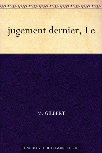 Couverture du livre jugement dernier, Le