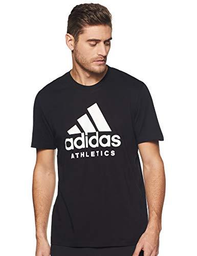 Adidas sid branded tee, maglietta uomo, nero, m