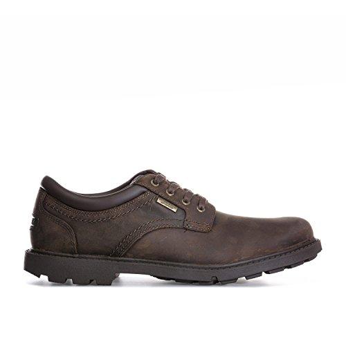Rockport Storm Surge Plain Toe Shoes Tan 7 UK