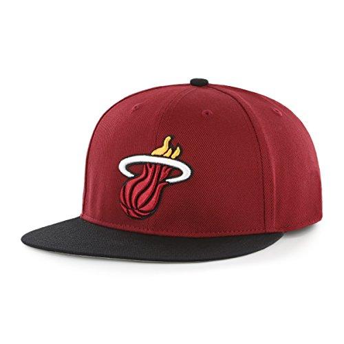 OTS NBA Gallant Varsity Snapback Verstellbar Hat, Unisex, NBA Gallant OTS Varsity Snapback Adjustable Hat, Razor Red -