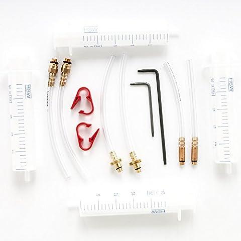 Kit básico universal con llaves Torx T7 y Torx T10 para frenos de disco Magura, Formula, Shimano y Avid