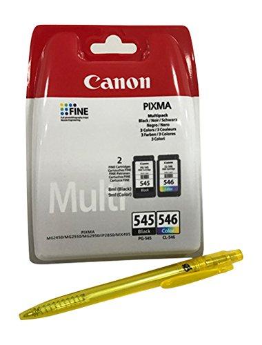 Cartouches d'encre pour Canon Pixma TS205 TS305 TS3150 TS3151 black/color Noir