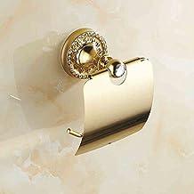Aviones de papel higiénico-- Papel higiénico de diamante Porta-toallas Papel higiénico Portapapeles Oro de alta calidad Soporte de papel higiénico impermeable