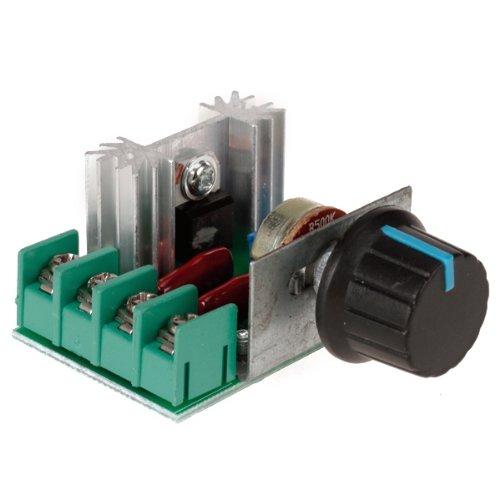 Foto de SODIAL (R) 2000W voltaje Regulador atenuacion Velocidad de la Luz monitorizacion de la temperatura