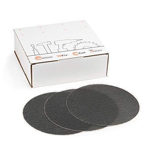 Schleifgitter 225 Klett | 25 Stück | Schleifscheiben Korn 100 | Ø 225 mm | Geeignet für Deckenschleifer, Trockenbauschleifer und Tellerschleifer