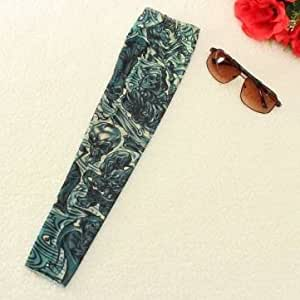Generic 1 PCS Demon Skull Nylon Stretchy Fake Arm Tattoo Sleeve Stocking
