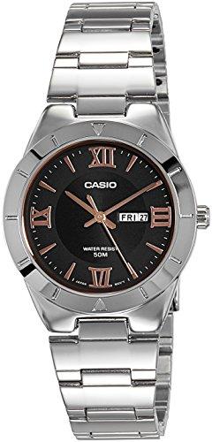 Casio Enticer Lady's Analog Black Dial Women's Watch - A1186 (LTP-1410D-1AVDF)