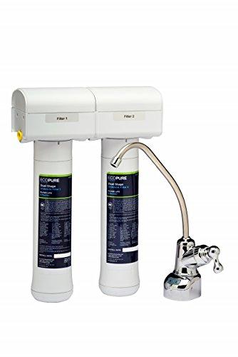 ECOPURE ecop200Trinkwasser Filtration System–Twin Filter (Filtration Trinkwasser)