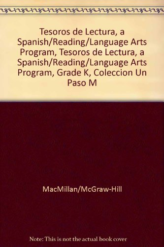 Tesoros de Lectura, a Spanish Reading/Language Arts Program, Grade K, Coleccion Un Paso Mas: A Nivel on Level Leveled Readers, Unit1 Week 1 Soy, 6 Pac (Elementary Reading Treasures) por McGraw-Hill Education