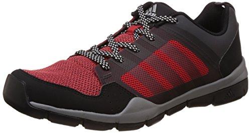 adidas Men's Andorian Black, Red, Dark Grey and Silver Multisport Training Shoes - 9 UK
