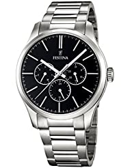 Festina Herren-Armbanduhr BOYFRIEND COLLECTION Analog Quarz Edelstahl F16810-2