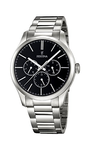 Festina Gents Watch XL Analogue Quartz Stainless Steel F16810 / 2
