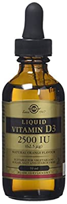 Solgar Liquid Vitamin D3 - Natural Orange Flavour - 59ml x 2500 IU from Solgar