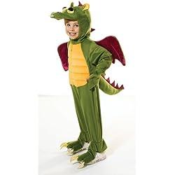 Children - Disfraz de dragón para niño, talla M (3 - 5 años) (CC891)