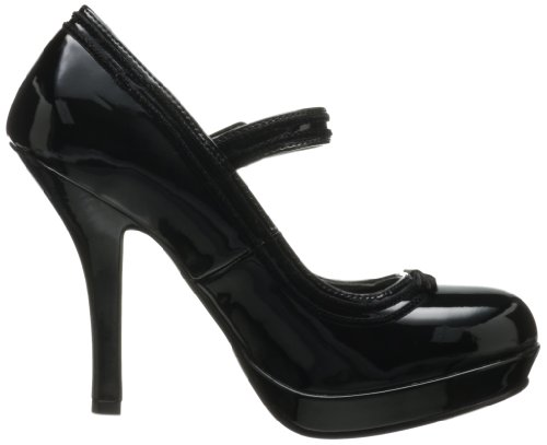Pleaser SEC15, Damen Pumps Blk Pat