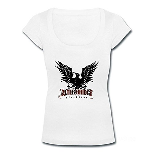 Epsion SuiyueGuan Womens Scoop Neck T-shirts Alter Bridge Blackbird Logo - Pattern 1 (Shirt Alter Bridge)