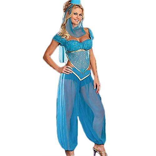 Kostüm Tausend Und Eine Nacht Riel - Türkis, (Arabian Kostüme Damen Nights Für)