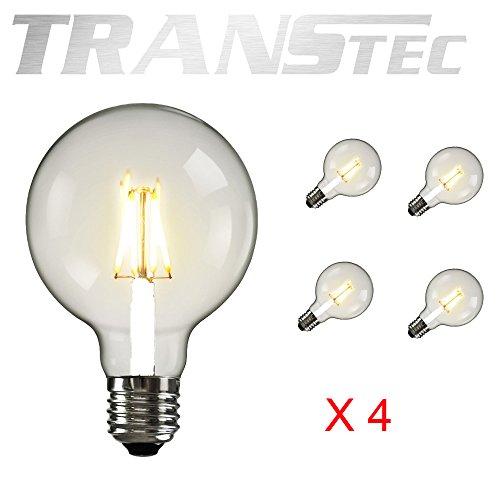 LED GLOBE (6W, G95/4Pack)