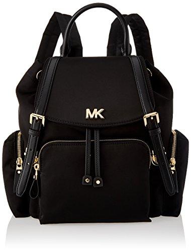 Michael Kors - Mott Md Backpack, Bolsos mochila Mujer, Negro (Black), 12x28x30 cm (W x H L)