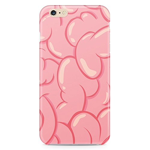 Queen Of Cases Coque pour Apple iPhone 5 C - Brains. - Premium en plastique rose