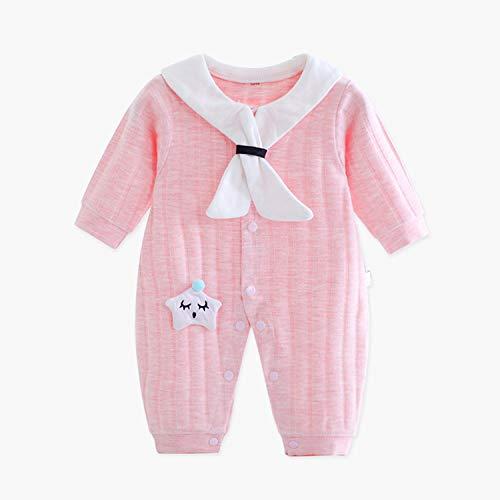 Cotton Knit Pyjama (WSXX Baby Neugeborenes Baby Natural Knit Cotton Strampler, Verbundene Kleidung Für Männer Und Frauen)