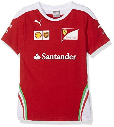 FERRARI F1 Kinder Ferrari Kids Team Tee 2016 T-Shirt, Rot, 152 (1 Und Baumwoll-t-shirt)