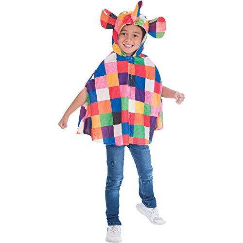 Jumpsuit Elefant Kostüm Baby Unisex Amscan (Elefanten Kostüme Für Baby)