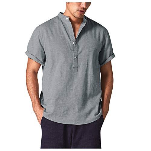 Camicia uomo manica corta vovotrade t shirt uomo