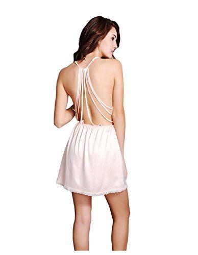 Gonna di seta sexy della sospensione ( Colore : Arancia , dimensioni : M ) Arancia