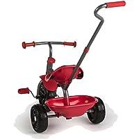 ColorBaby Triciclo con Mango, Color Rojo (43451)