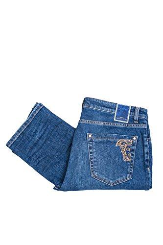 Versace Herren Jeanshose blau blau W34 Blau