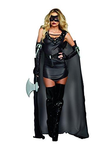 Assassin Weiblich Kostüm - Dreamgirl 9873-Die Assassin-Weiblich Kostüm (X-Large)