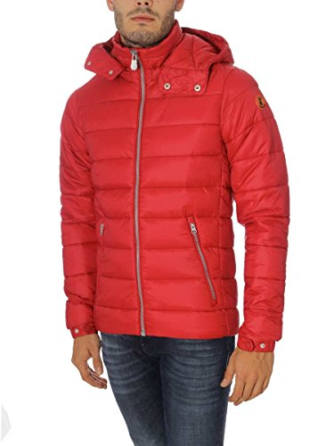 Giubbotto Save The Duck WWF Inverno 2017 in Plumtech W3556M TangoRed(Rosso)119, L MainApps