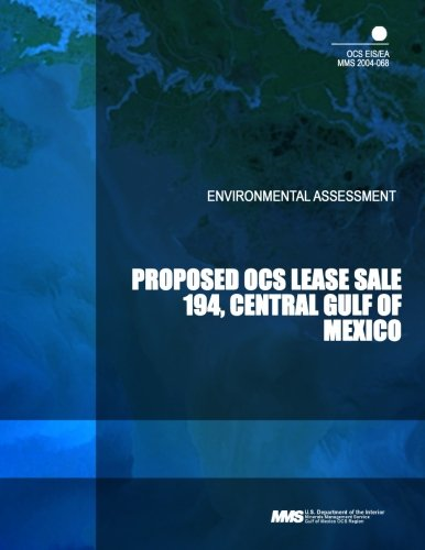 Proposed OCS Lease Sale 194, Central Gulf of Mexico por U.S Department of the Interior