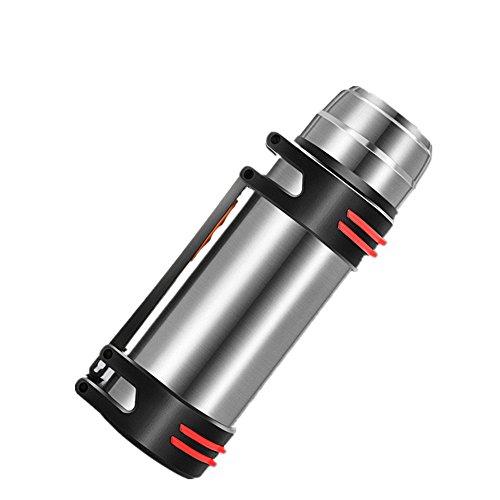 Feetbilbli Tragbarer Edelstahl-Vakuumbecher Isolierbecher Hochtemperaturbeständig Vakuum-Isolierung Doppel-Isolierung Große Kapazität Wasserkocher Elite Produkt (Elite Wasserkocher)