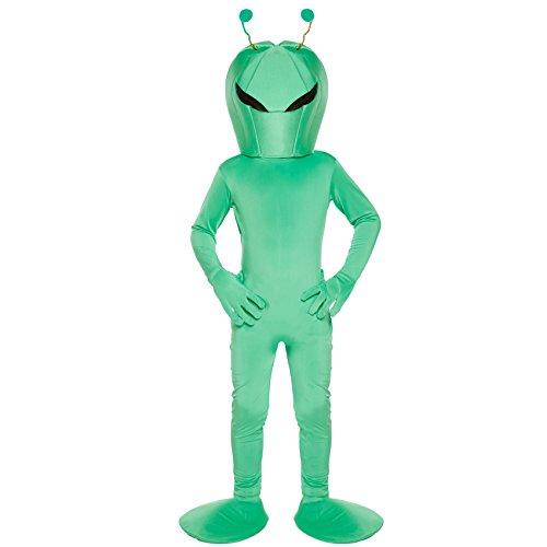 Disfraz infantil Alien MEDIANO 7-9 AÑOS