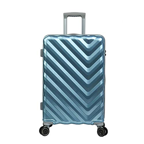 SXXCL Koffer Mode Koffer universal Rad Koffer Hard Shell Koffer (Color : Blue, Size : 26in)