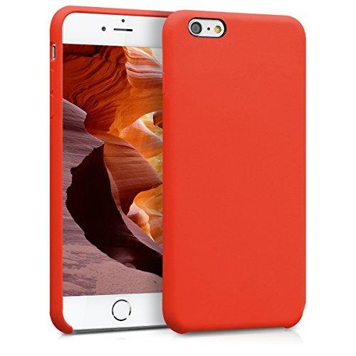 kwmobile Apple iPhone 6 Plus / 6S Plus Hülle - Handyhülle für Apple iPhone 6 Plus / 6S Plus - Handy Case in Neon Orange