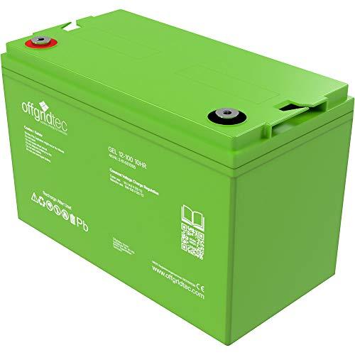 Offgridtec® 100Ah C20 GEL Akku 12V Solarakku Batterie ...