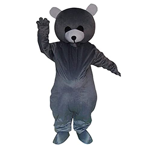 Mascottes Cartoon Costumes - Mascotte Ours Gris Costume Cartoon Halloween Party