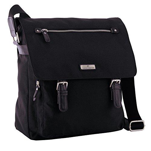 tom-tailor-acc-rina-bolso-de-hombro-de-material-sintetico-mujer-color-negro-talla-27x33x9-cm