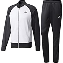 Amazon.it  pantaloni tuta adidas - Bianco 6d2de3033c03