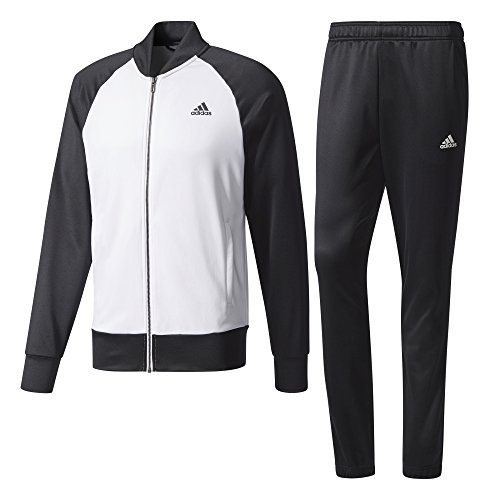 adidas Herren Cosy Trainingsanzug White/Black