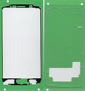 Samsung Galaxy S6 Kleber, Klebefolie Adhesive für Display Glas LCD und Rückseite Akkudeckel