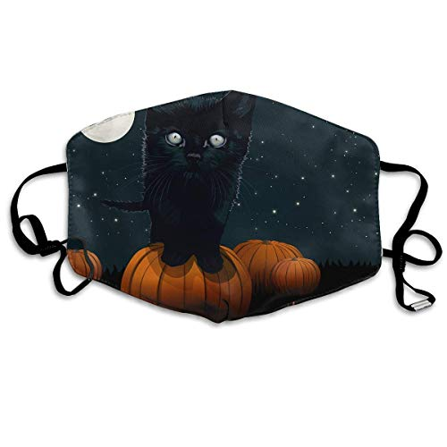 Anti Dust Face Mouth Cover Mask Cat Halloween Anti Pollution Breath Healthy Mask (Für Face Halloween Design Cat)