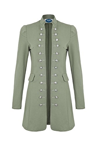 4tuality AO Massimo Military Coat Slim Fit Gr. XXXL Khaki